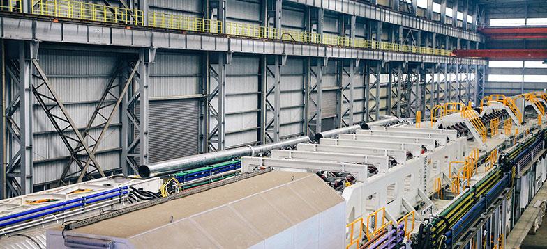 某大型铝材厂使用富达螺杆式空气压缩机